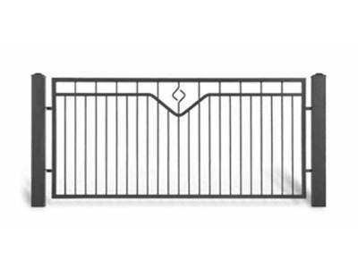 Ogrodzenie posesyjne AW1053
