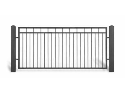 Ogrodzenie posesyjne AW1054