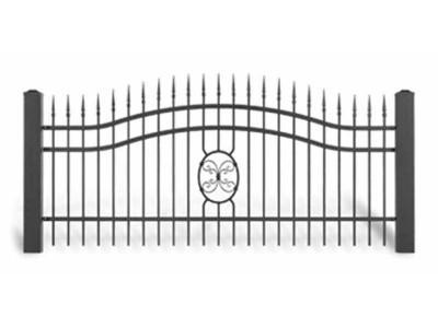 Ogrodzenie posesyjne AW1057